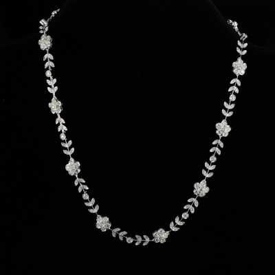 AN ARTFUL 6.50 CT DIAMOND NECKLACE HIGH END JEWELLERY