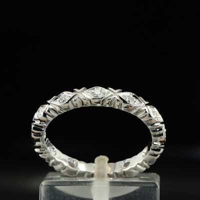 SUPERB BRILLIANT CUT DIAMOND FULL ETERNITY RING