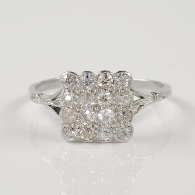 AUTHENTIC ART DECO 1.60 CT OLD DIAMOND GORGEOUS RING!