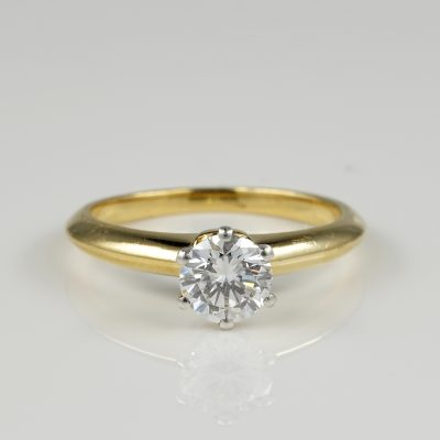 Iconic Tiffany Top Quality Diamond Solitaire ring