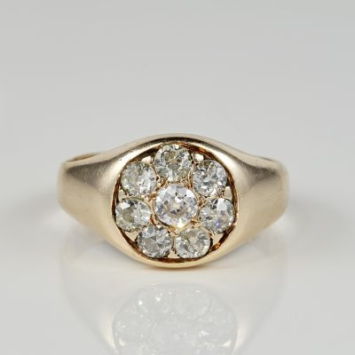 Beautiful Victorian 1.30 Ct old mine Diamond Ring
